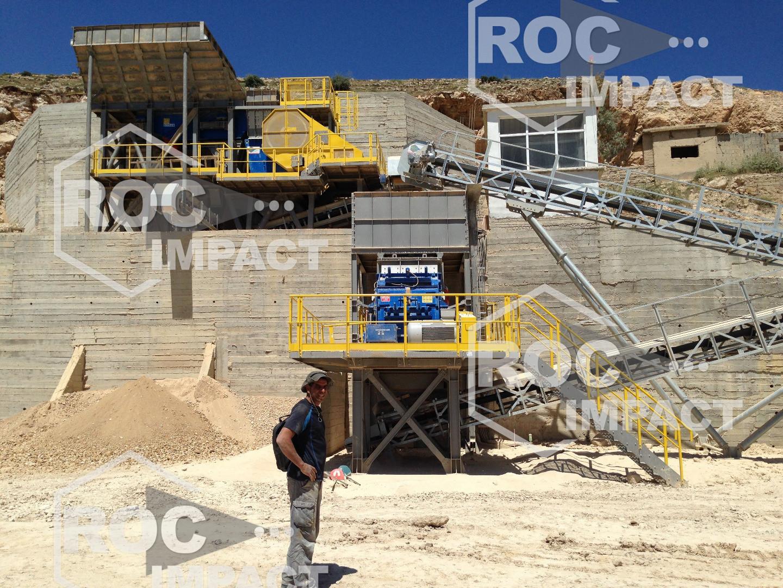 INSTALLATION COMPETE 150 T/H EN ALGERIE