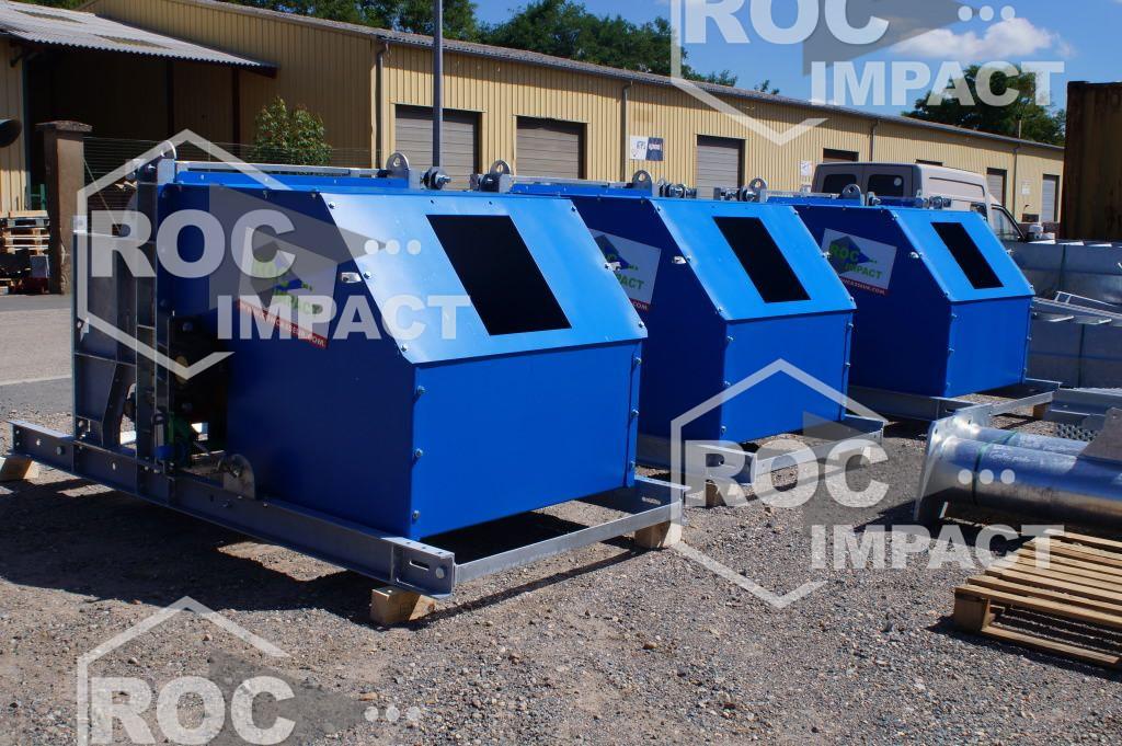 Nueva planta de trituración en la producción de una mina de Ghana.