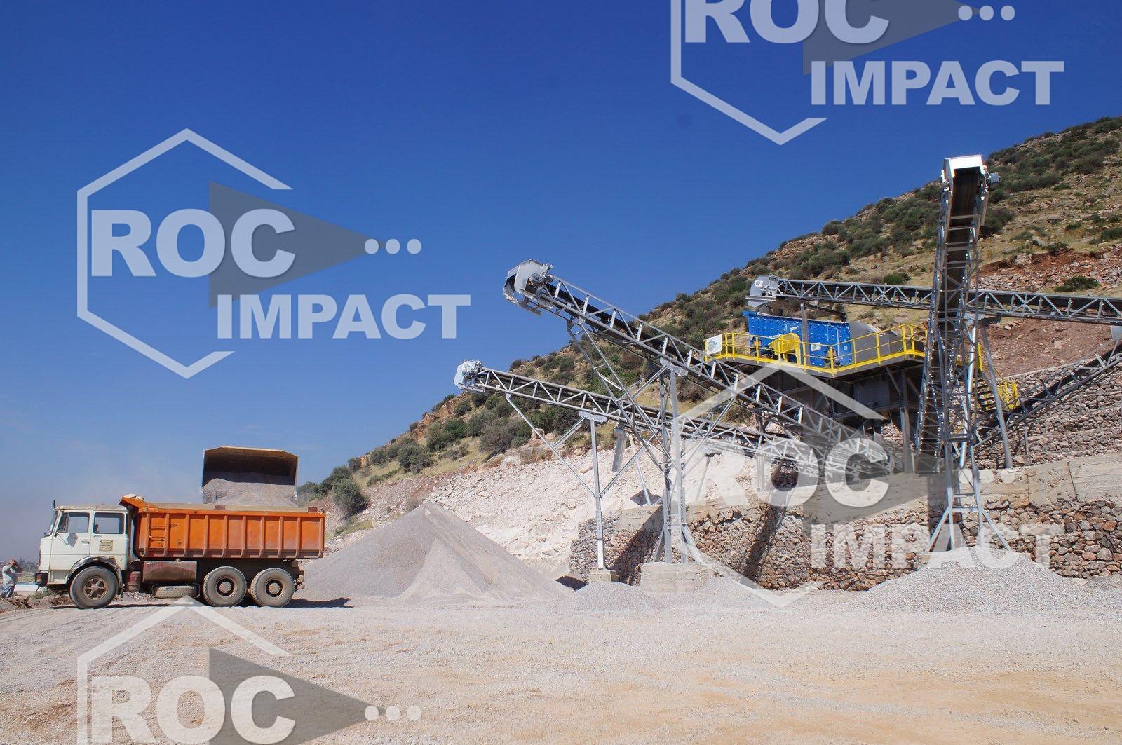 planta de trituración de 300 t / h de 0/25 mm (destino algerie)