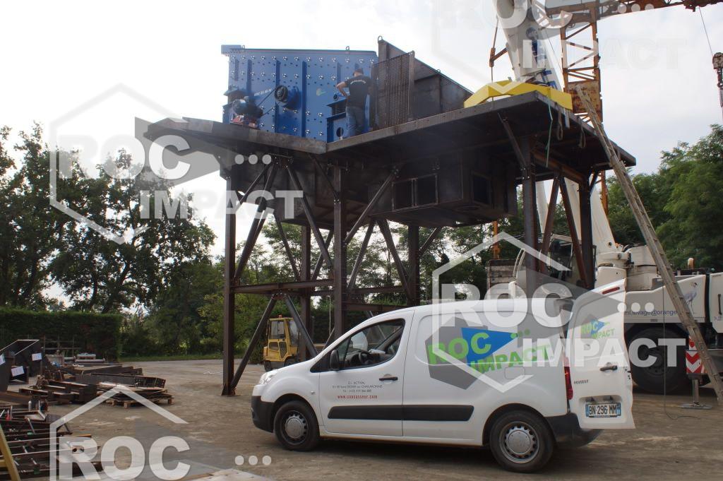 Nouvelle unité de concassage en production pour une Mine au GHANA.