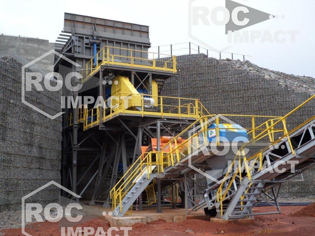 INSTALLATION DE LA NOUVELLE STATION DE CONCASSAGE AU GHANA