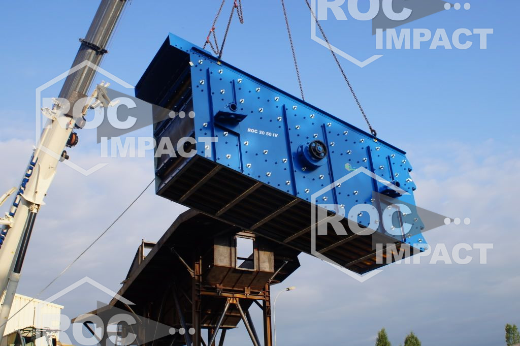New crushing plant in production for a Mine GHANA.