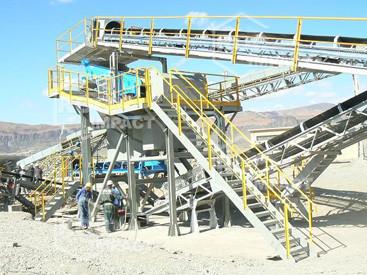 Installation de concassage et criblage mine d'or AKKA GOLD MINING Maroc