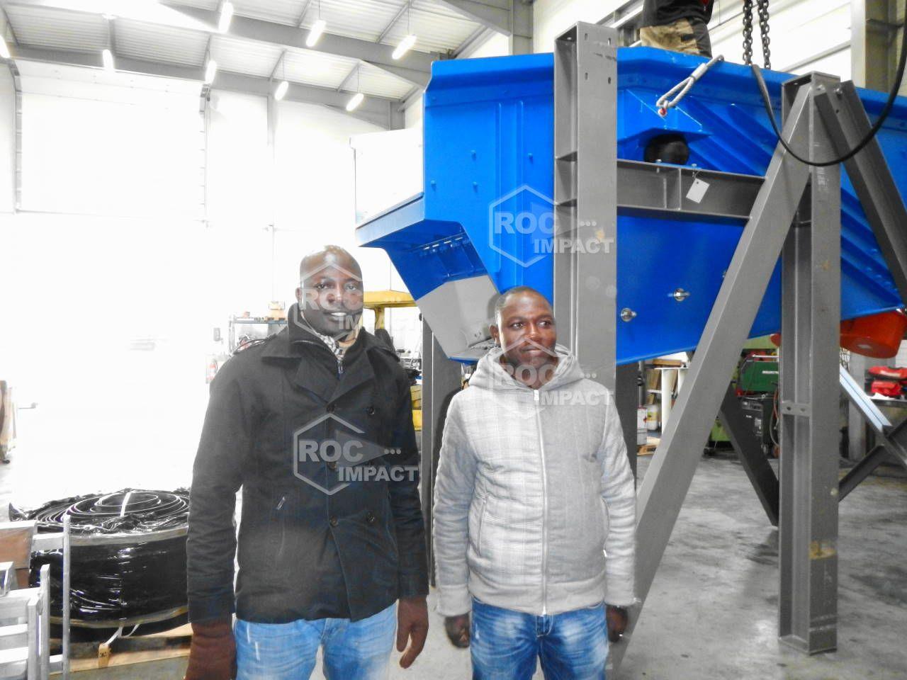 ROC IMPACT enregistre 5 nouveaux projets d'unités de concassage pour Mine et Carrière