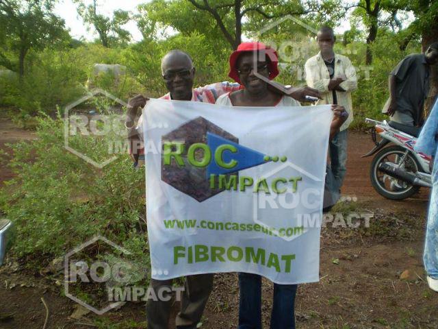 Installations complètes de concassage pour la société FIBROMAT au MALI