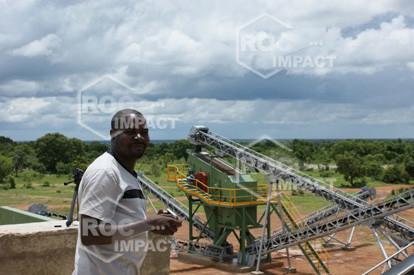 Nouvelle installation de concassage et broyage au Burkina Faso