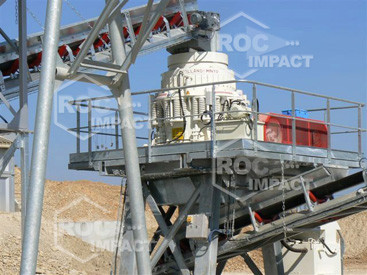 Cone Crushing plant for a Quarry