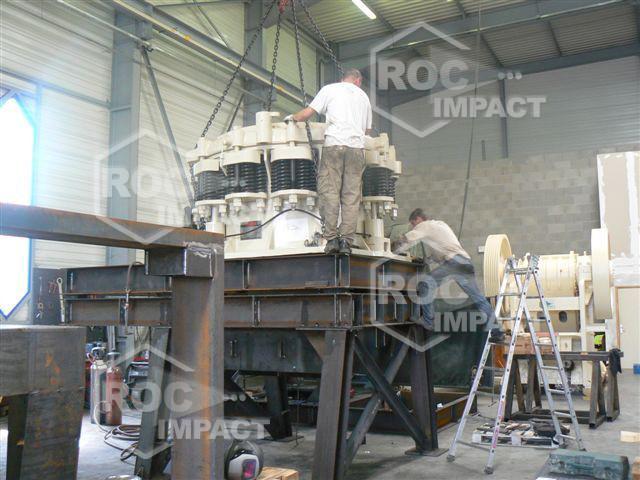 Nouveaux projet pour la Roumanie en cours de fabrication