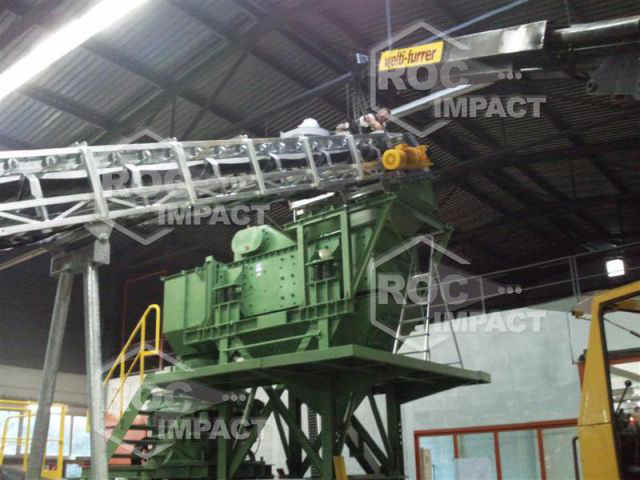 Delivery of a Complete TURN KEY Crushing and Screening Plant 100 TPH vanadium, titanium, magnésium
