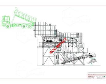 CONCASSEUR A MACHOIRES ROC 12.10 / Ouverture : 1200 x 1000 mm