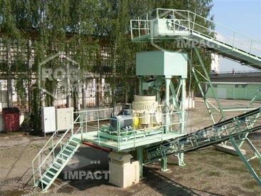 Installation station concassage en Roumanie