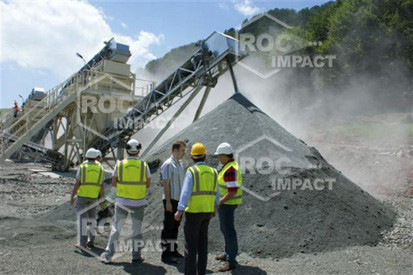 Start of the crushing plant in Romania