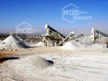 Installation concasseur au Niger - Entreprise Razel
