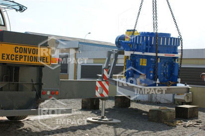 New installation of crushing and screening for the Guinea CONAKRY