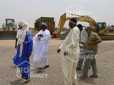 Installation Concasseur pour Construction routes et villes entre Agadez Djadjeri et Zinder