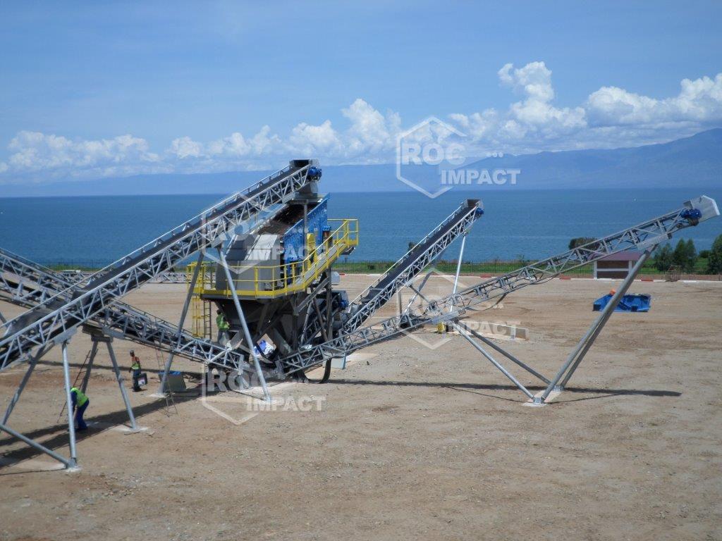 INSTALLATION MOBILE COMPLETE 150 T/H AU BURUNDI