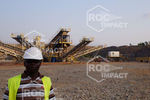 MISE EN ROUTE DE L'INSTALLATION COMPLETE AU GHANA