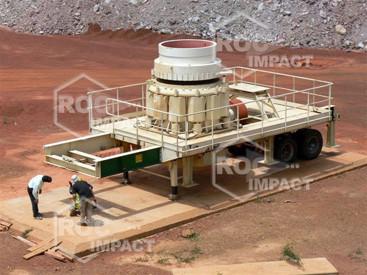 Instalación chancadora - Mina de oro en Burkina Faso SEMAFO MANA GOLD MINING